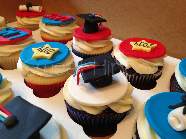 Fondant Graduation - Graduation Cake - Cupcake Toppers - Party by SweetFondant on Etsy https://www.etsy.com/listing/193332254/fondant-graduation-graduation-cake