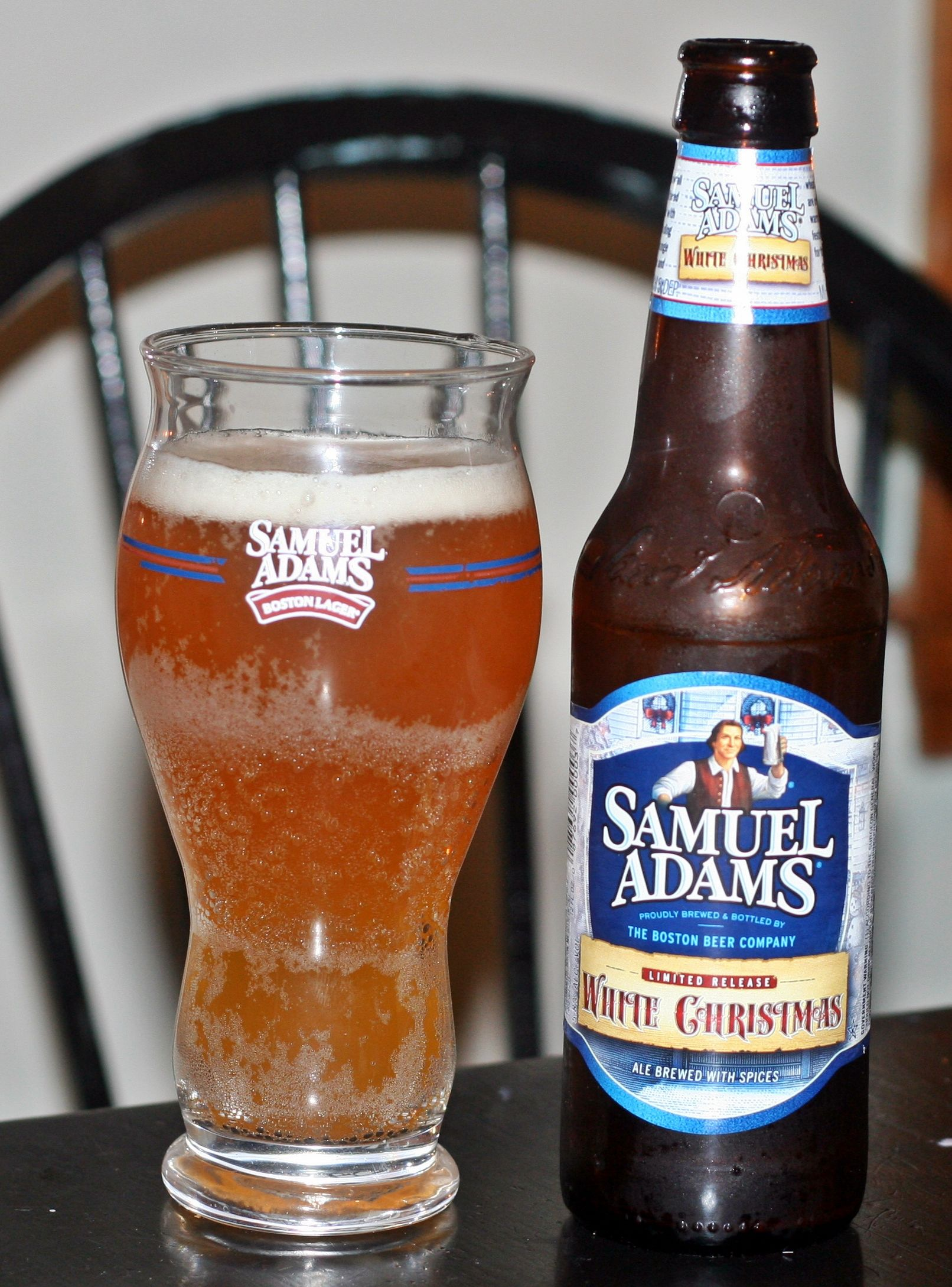 sam adams brings us a winter favorite with white christmas the taste is of wheat - White Christmas Sam Adams