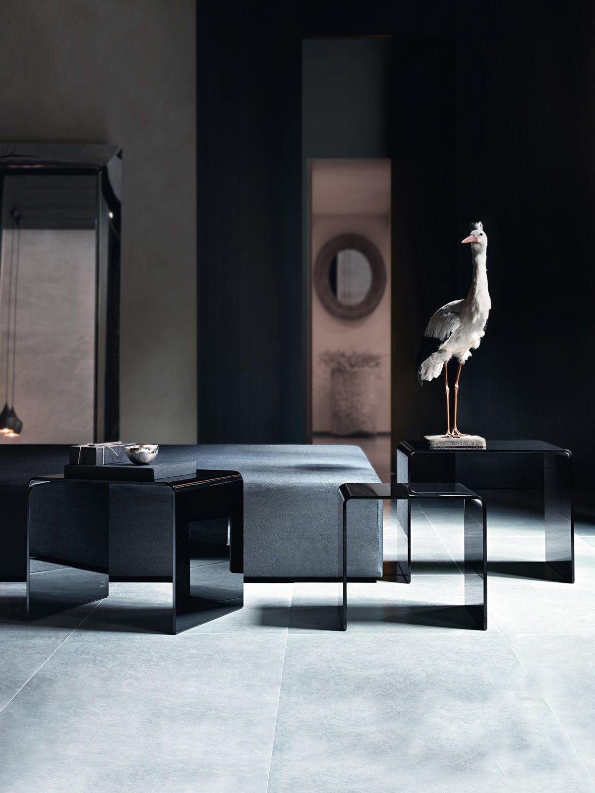 Rialto coffee table Manufactured by Fiam Italia for Glassdomain