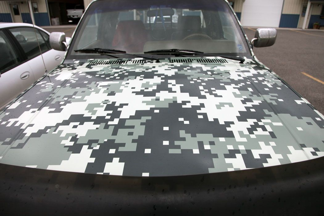 Snow Camo Wrapsdecals Archive HO HUMMER X Off Road - Camo custom vinyl decals for trucks
