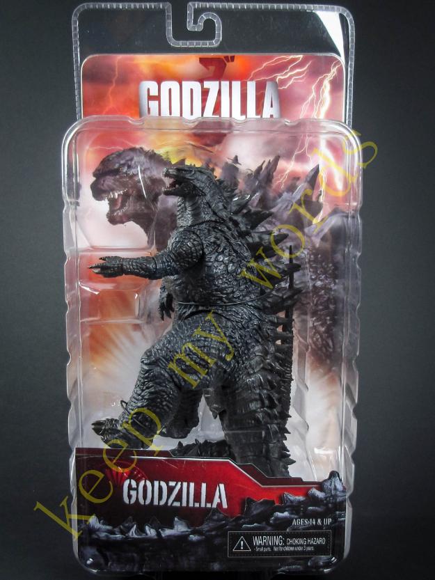 "NECA Godzilla 2014 Head To Tail 12"" Action Figure Movie"