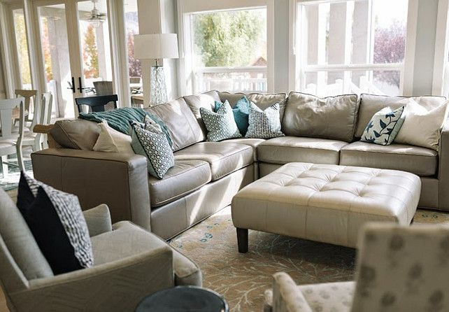 Love The Color Of This Sectional And The Mixture Of Colors And