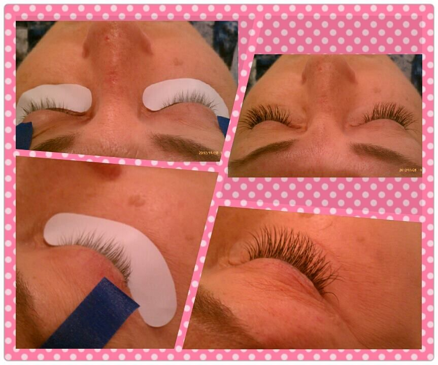 Semi-Permanent Lash Extensions   Before & After Pictures ...