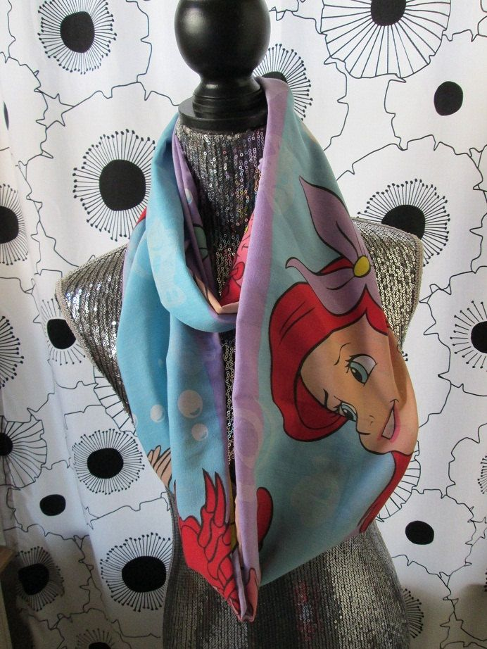 Colorful+Little+Mermaid+Ariel+Infinity+by+CANDYPANTSclothing,+$24.00