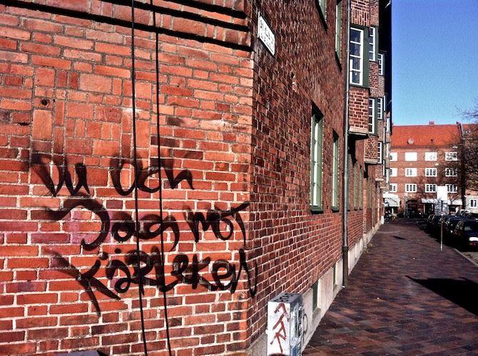 Du och jag mot kärleken, Malmö