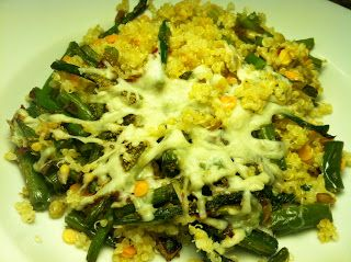 Asparagus, Green Bean, Lentil, and Quinoa Casserole ...
