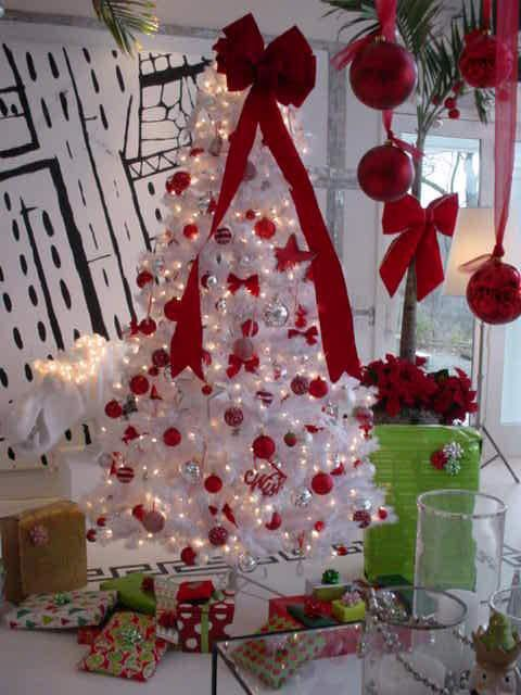 Winter White Christmas Tree Christmas Trees Colored White