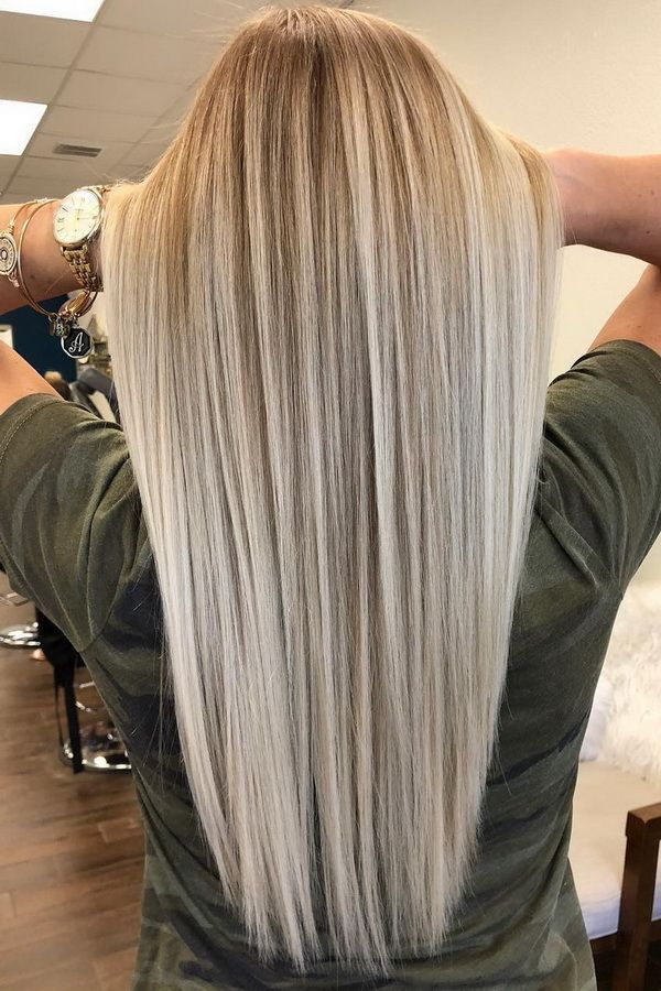 Summer Hairstyles : 51 Ultra Popular Blonde Balayage Hairstyle & Hair Painting I…