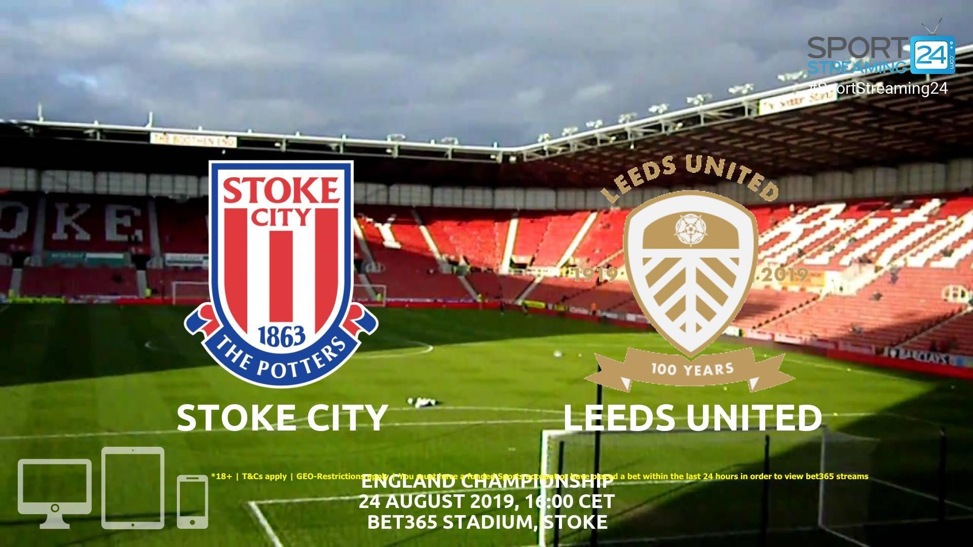 Streaming News And Match Previews Sportstreaming24 Stoke City Leeds United Arsenal Tottenham