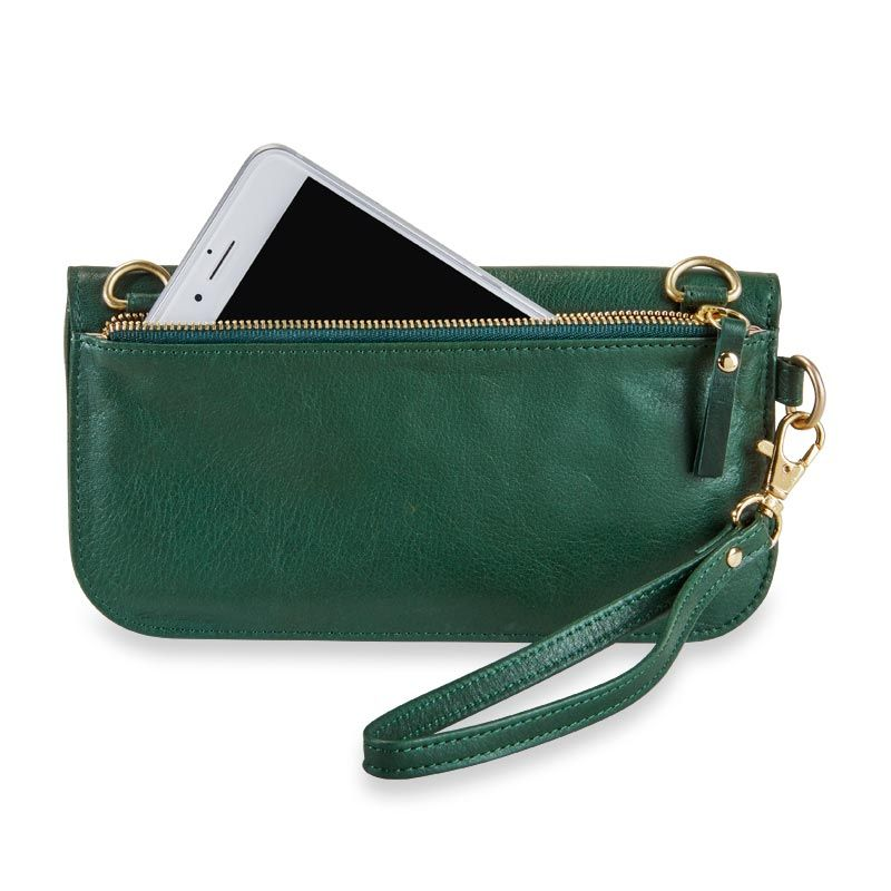 Alexa Multi-Strap Phone Wallet  A versatile clutch and phone case in luxe  leather 6c9b2514e9ccd