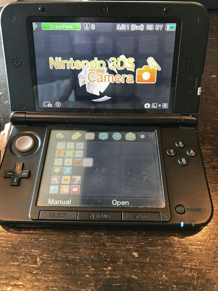 Nintendo 3DS XL Limited Edition Red Handheld System - Works