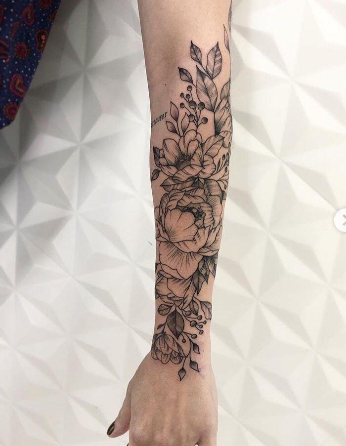 Flower Sleeve Tattoo Forearm: Forearm Sleeve Tattoos, Forearm Tattoos