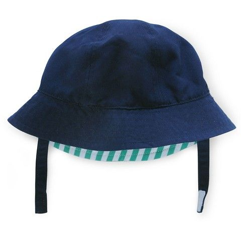 Just One You™ Made by Carter s® Baby Boys  Striped Reversible Bucket Hat -  Green White Blue 0-6 M c9f52431b30
