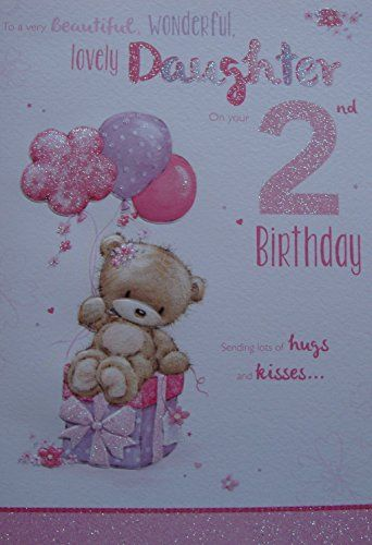 For A Special Daughter On Your 2nd Birthday Card