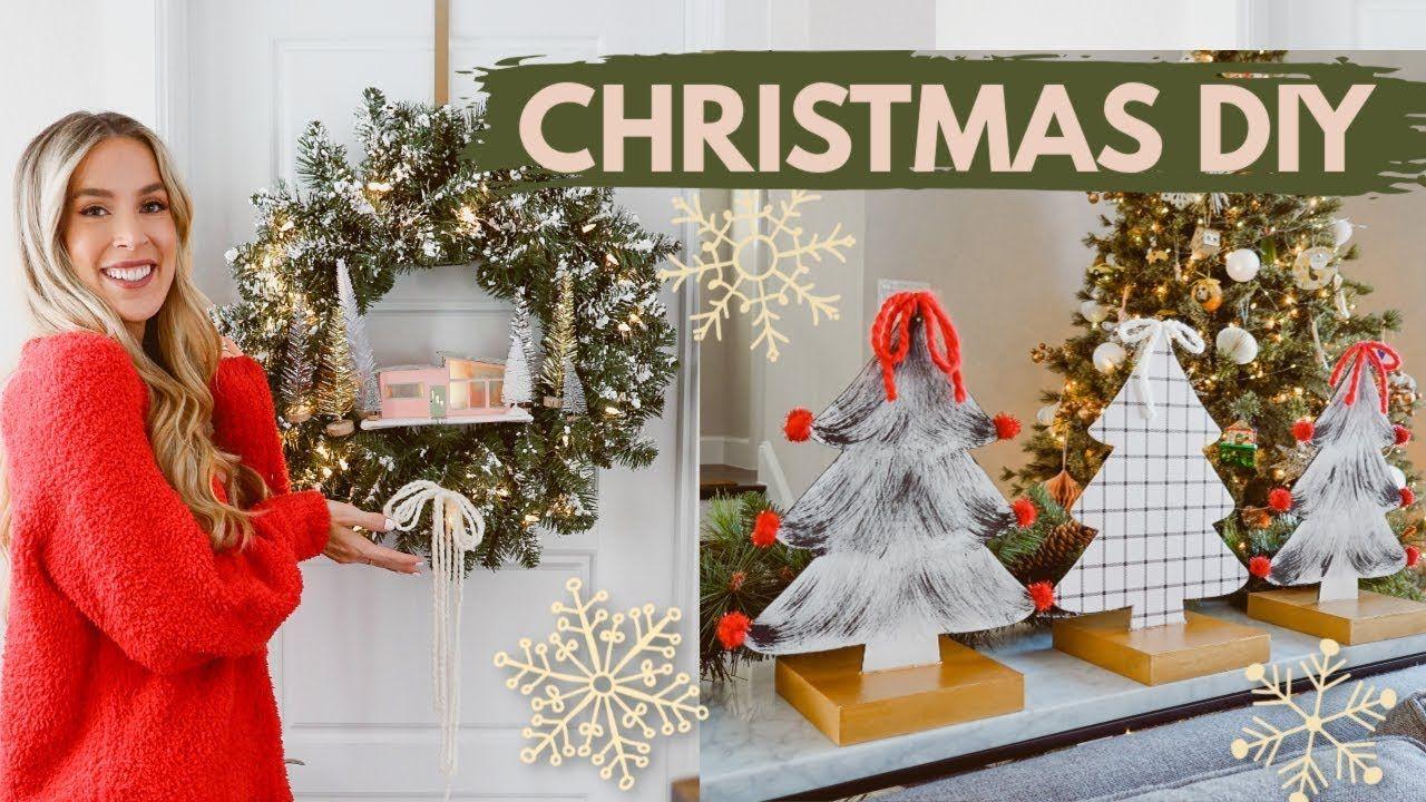 Diy Christmas Decor Ideas Dollar Tree Target Leighannsays Youtube Christmas Diy Christmas Decor Diy Christmas Decorations