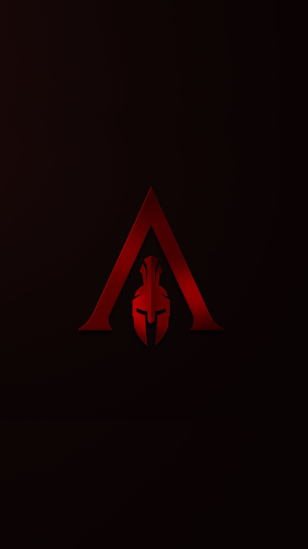 Assassin S Creed Odyssey Spartan Red Minimal 1080x1920