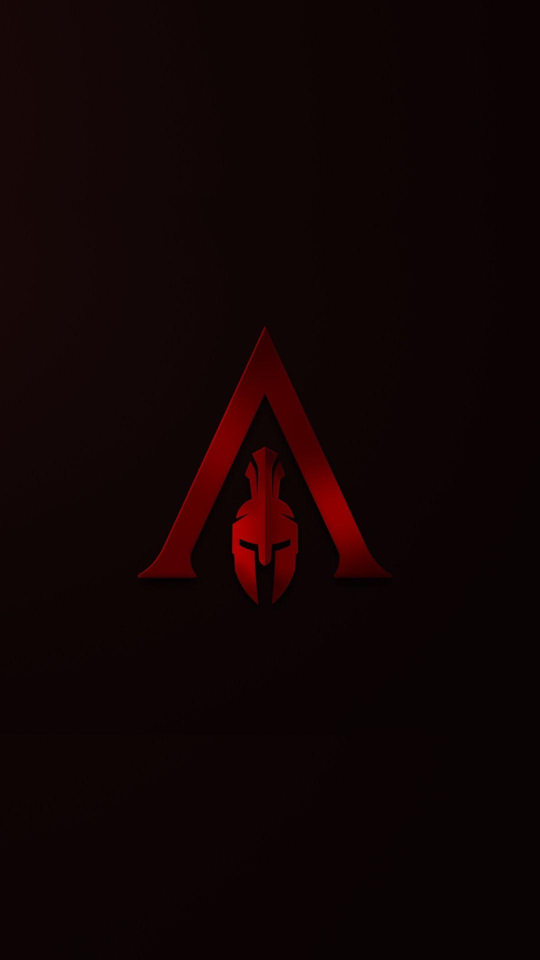 Spartan Helmet Wallpaper : spartan, helmet, wallpaper, Assassin's, Creed, Odyssey,, Spartan,, Minimal,, 1080x1920, Wallpaper, Assassins, Creed,, Wallpaper,, Warriors