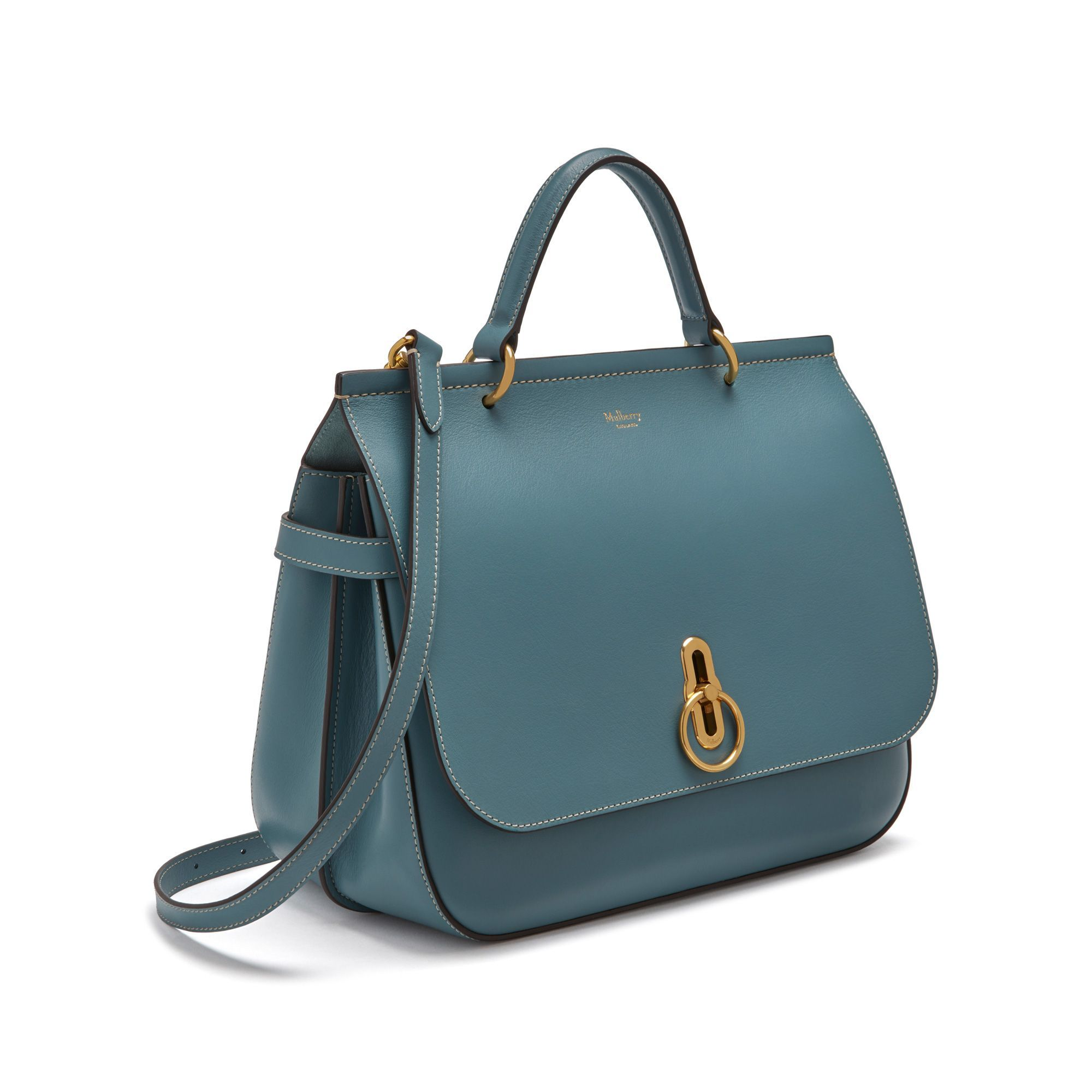 a2bb3ff5e36ef Shop the Amberley in Dark Frozen Silky Calf Leather at Mulberry.com. The  Amberley