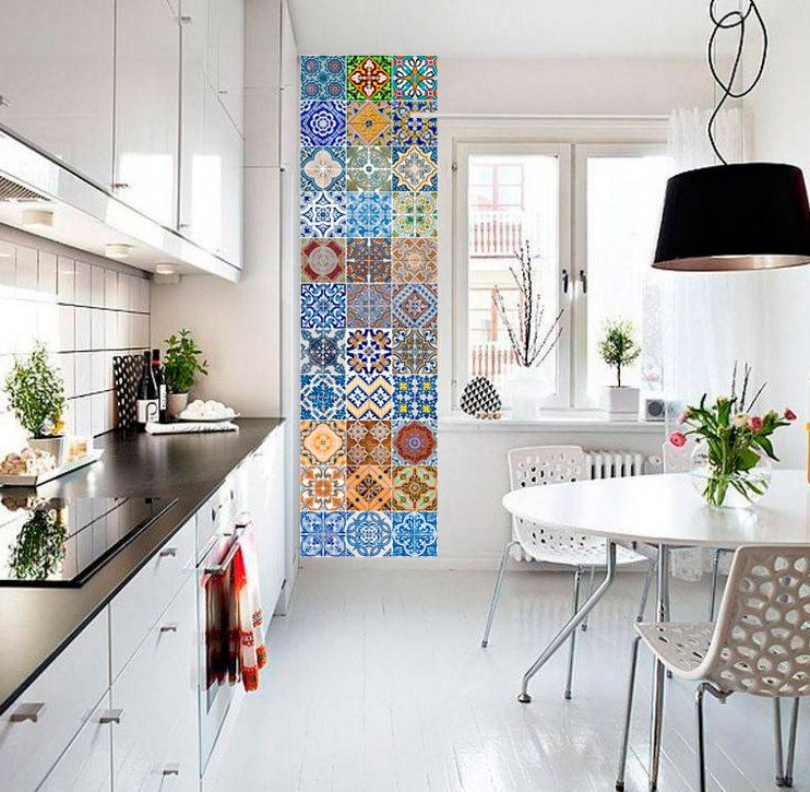 Portuguese Tiles - Azulejos - Tile Decals - Tile Stickers - Kitchen