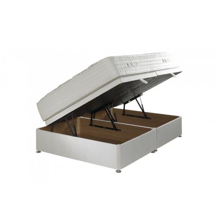 Ottaman Storage Divan Base £400 inc mattress  sc 1 st  Pinterest & Ottaman Storage Divan Base £400 inc mattress | Beds | Pinterest ...