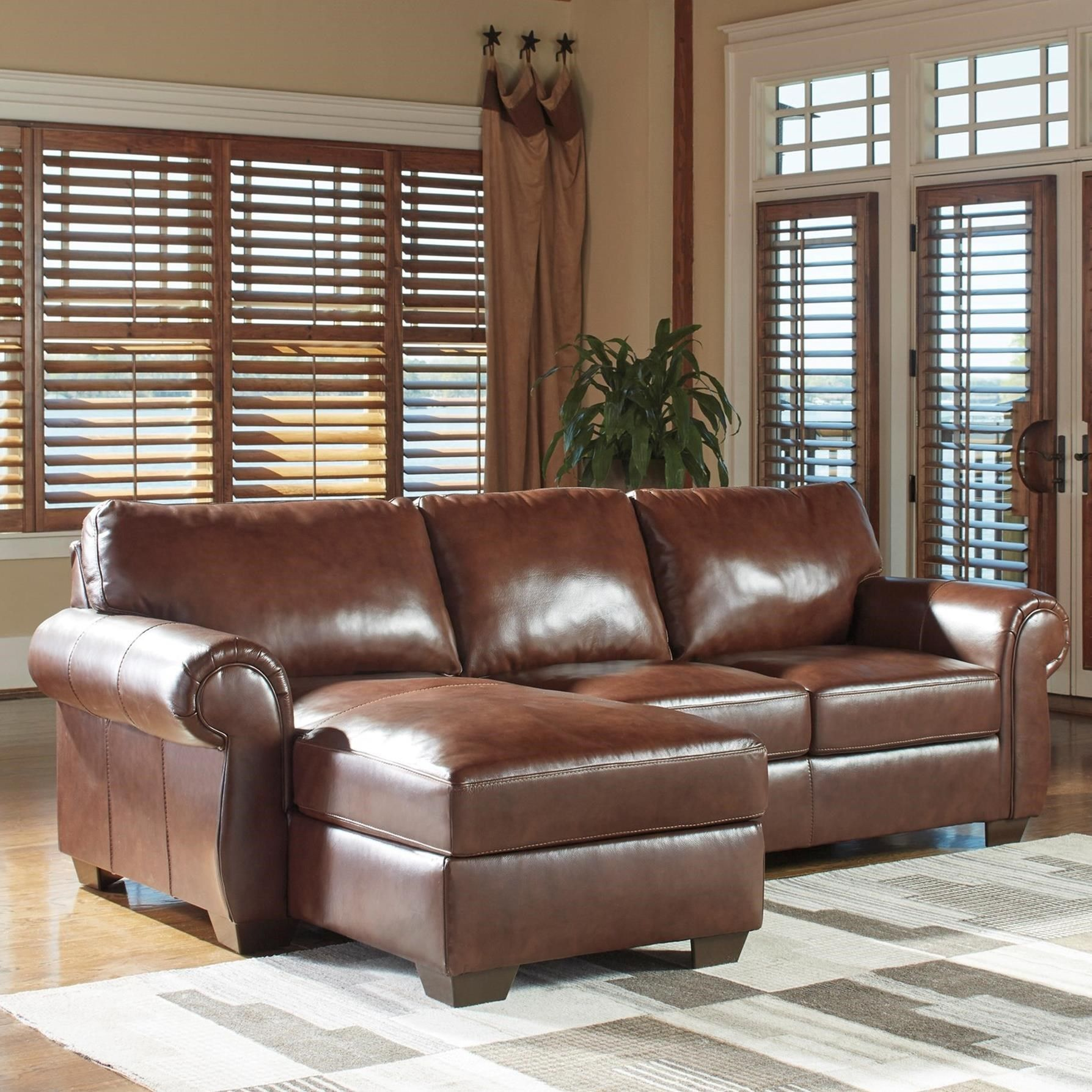Lugoro 2 Piece Sectional With Left Chaise By Signature Design By