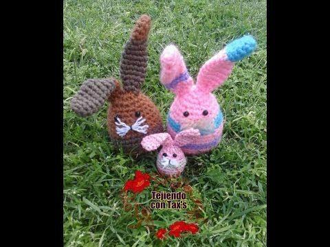 Amigurumis Conejos Paso A Paso : Conejo amigurumi parte tejiendo el cuerpo y la cabeza youtube