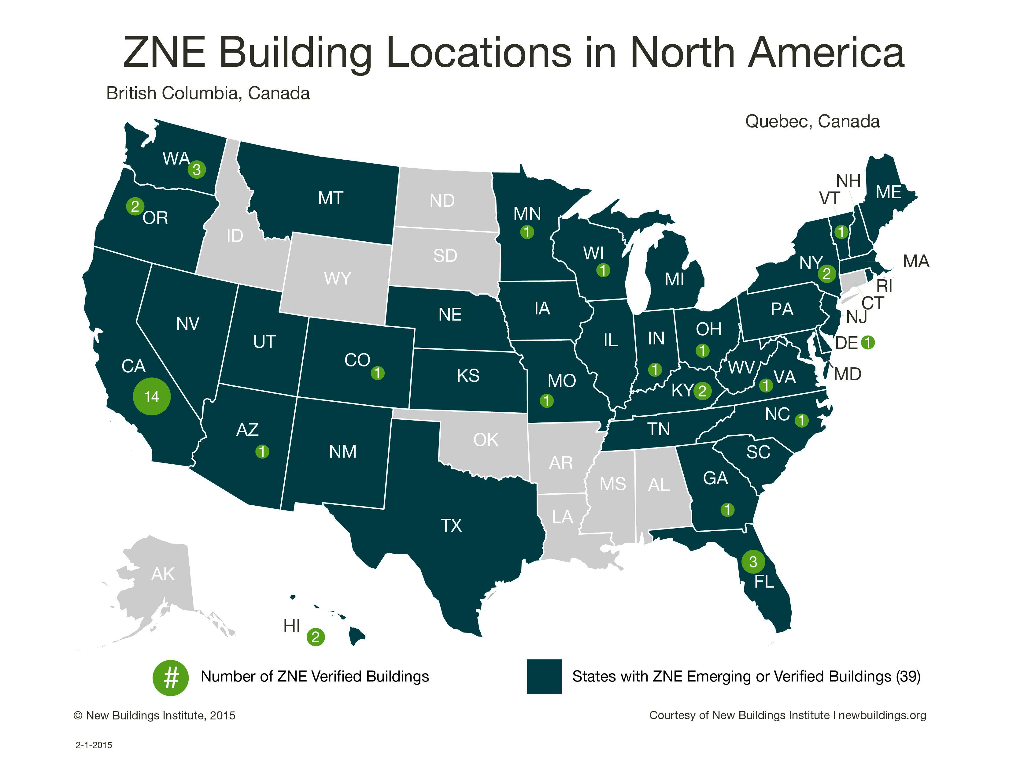 List Of Zero Energy Buildings