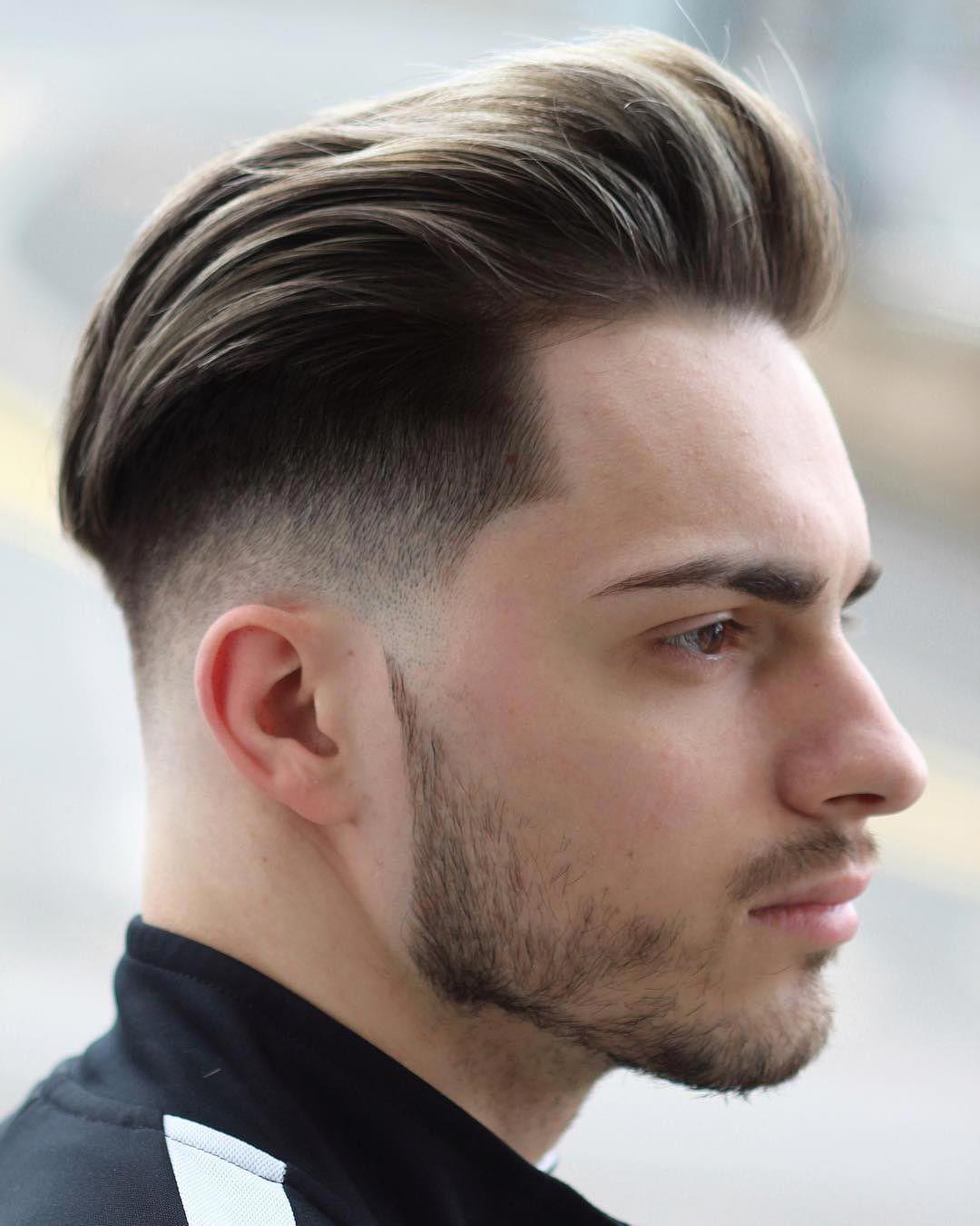 Undercut Mannerfrisuren Kurz Langeres Deckhaar Bart Herrenfrisuren Haarschnitt Manner Haarschnitt