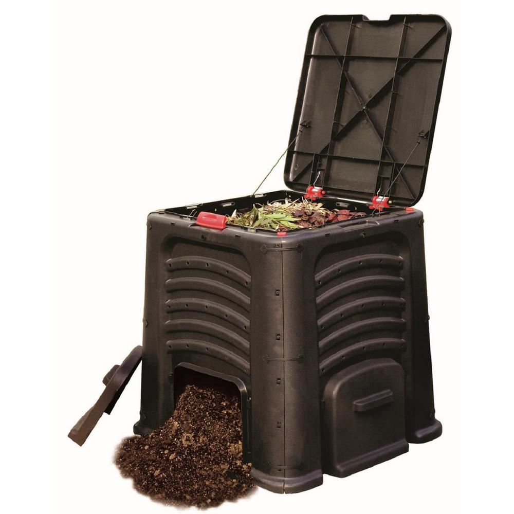 Unbranded Tierra Garden 115 Gal Composter 9491 The Home Depot In 2020 Composter Composting Easy Compost