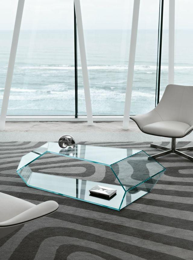 Glastisch Design von Karim Rashid und Tonelli Design   Innendesign
