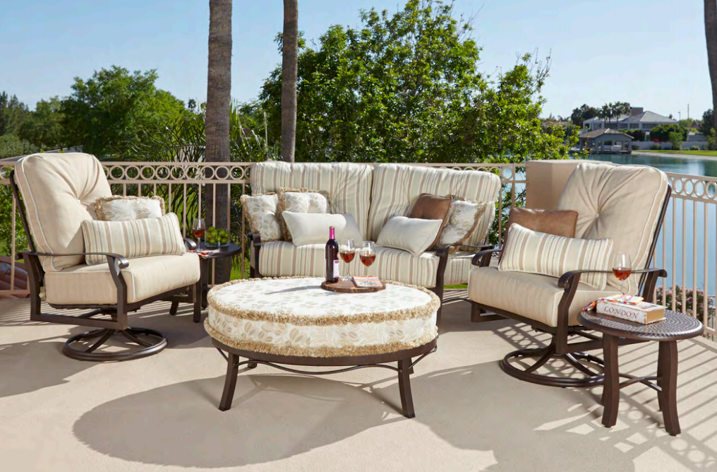 Unwind And Relax This Summer With Woodard Patio Furniture The Patio Shop And Fireplace Center Has The Best Selection Of P Furniture Patio Furniture Sets Patio