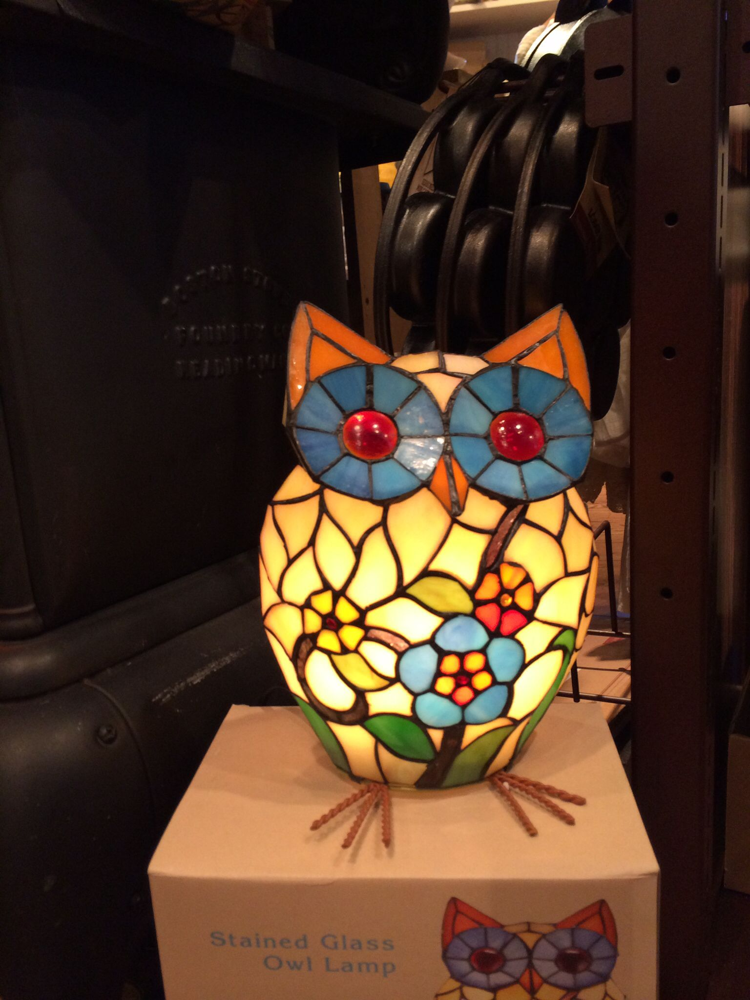 Owl Lamp at Cracker Barrel | Owl lamps/ uilen lampen ...