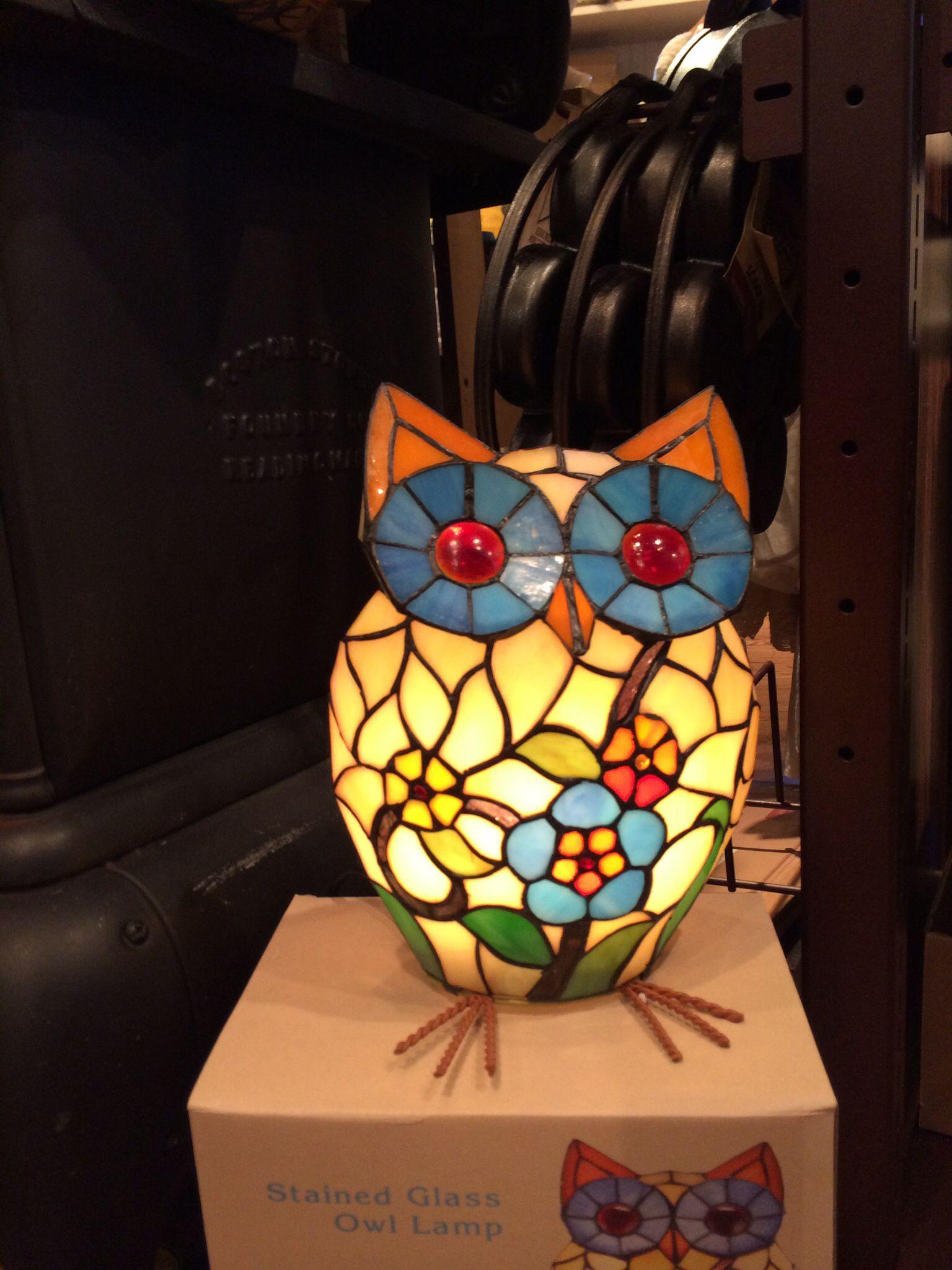 Owl Lamp at Cracker Barrel