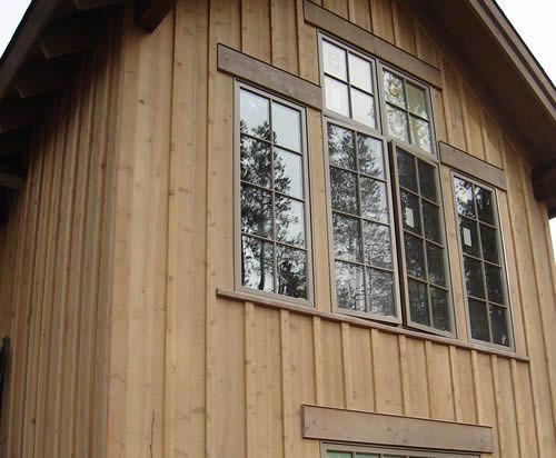 Cedar Board Batten Siding Specialty Wood Products Board And Batten Siding Siding Options Vinyl Siding