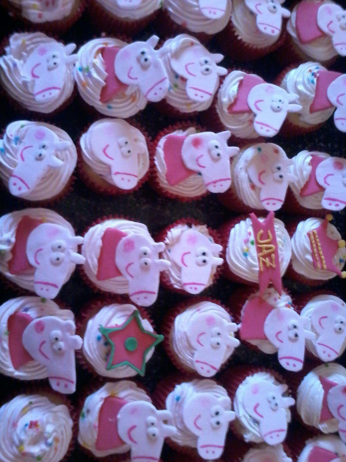 Cupcakes Peppa Pig <3
