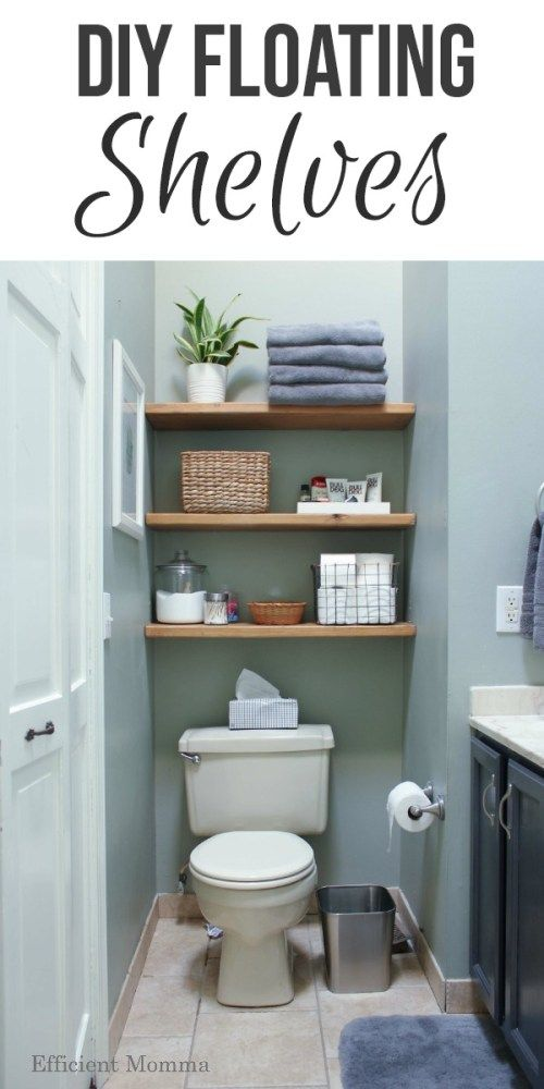 DIY Floating Shelves - Rachel and Co. Interiors
