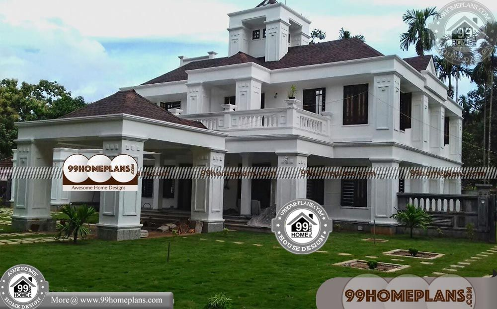 Bungalow Style Home Plans With 3d Elevations Low Budget Grand Gorgeous Design Gallery 500 Latest Ultra Modern Complex Home With 6 Bhk D In 2019 Basement House Plans 6 Bedroom House Plans House Plans