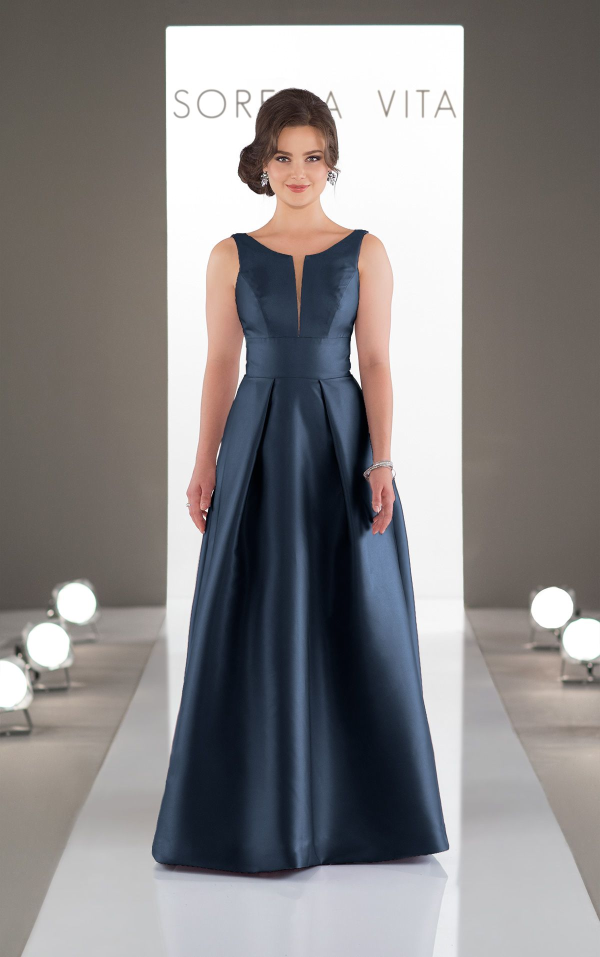 4fdbf385640 Classic and Simple Bridesmaid Dress in 2019