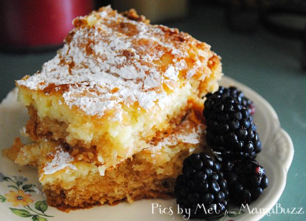 Chess Bars Without Cake Mix