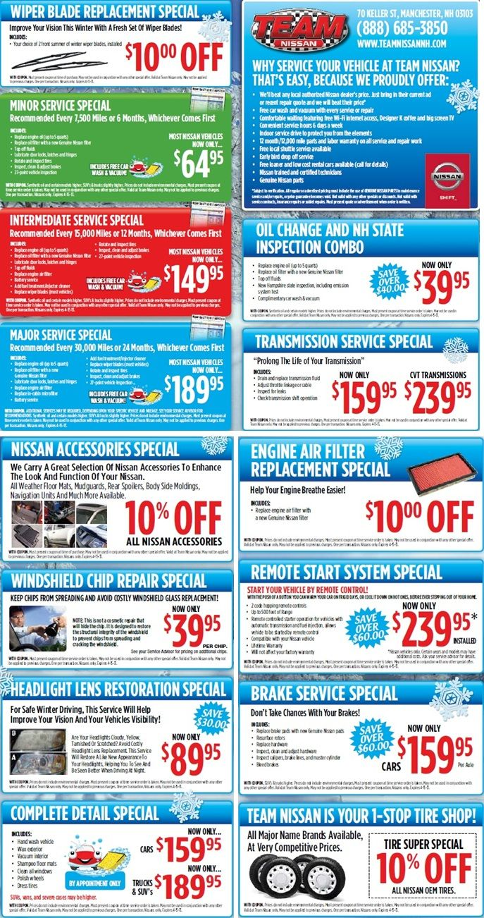 full oil department checking andy service mohr coupons nissan in avon coupon indianapolis change