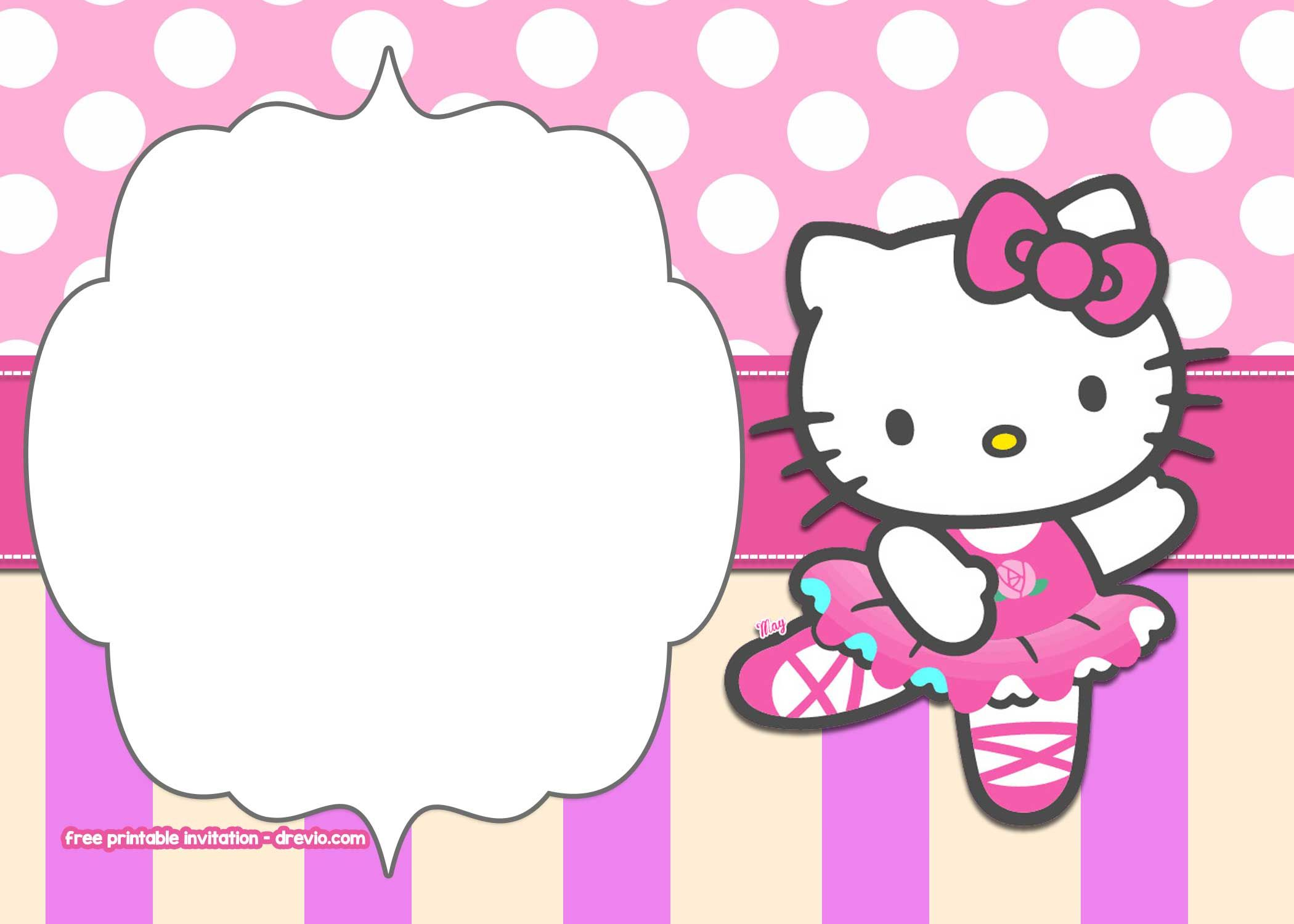 polka dot invitation templates