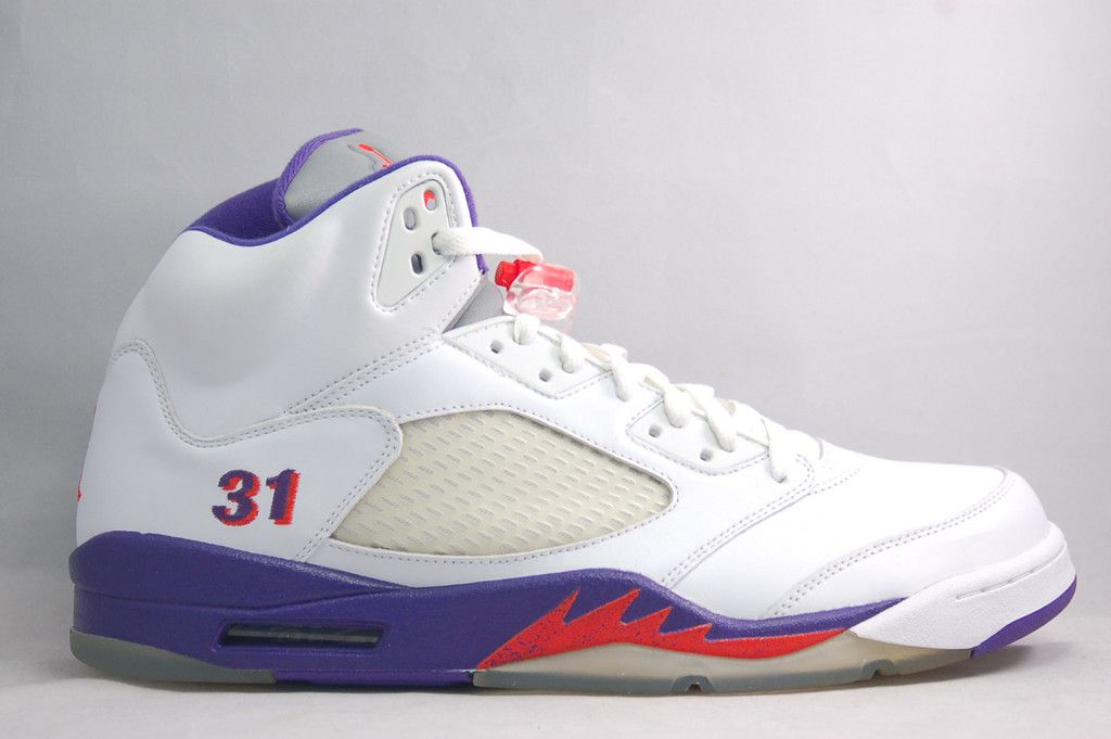 Shawn Marion's Air Jordan V 5 Suns Home PE