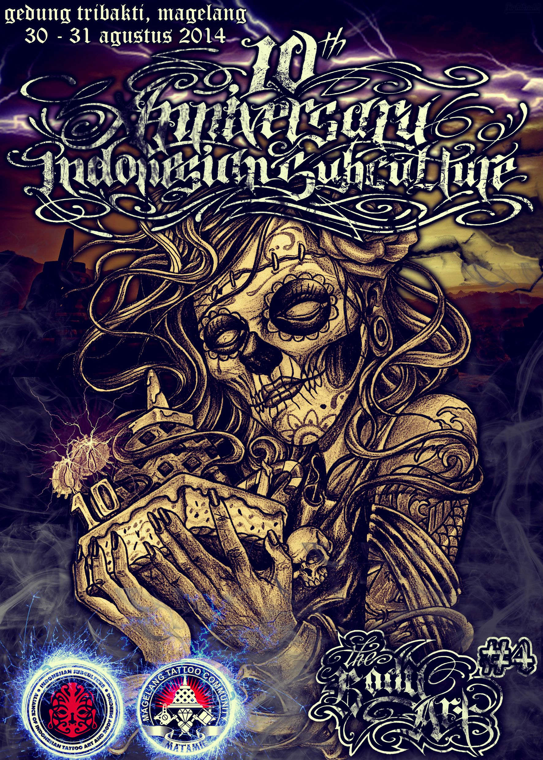 10th anniversary Indonesian SubCulture ( booklet