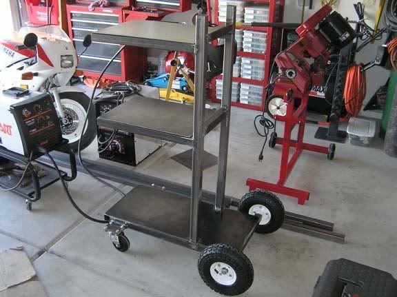 welding machine carts