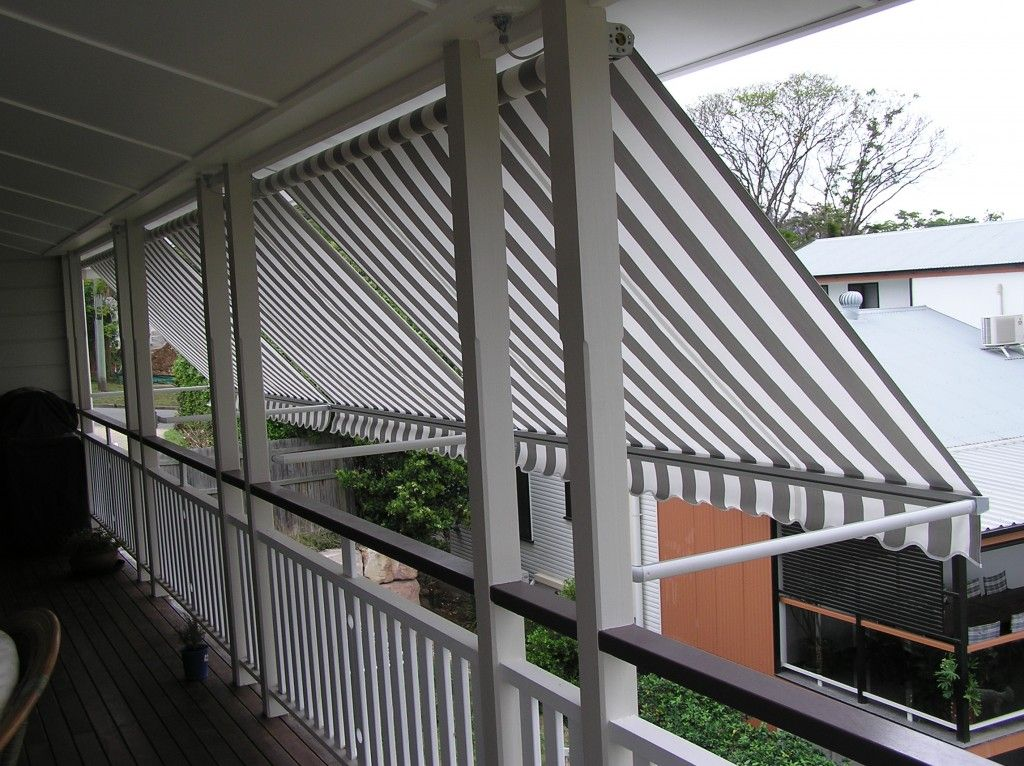 Brisbane Awnings Patio Aluminium Fabric Canvas