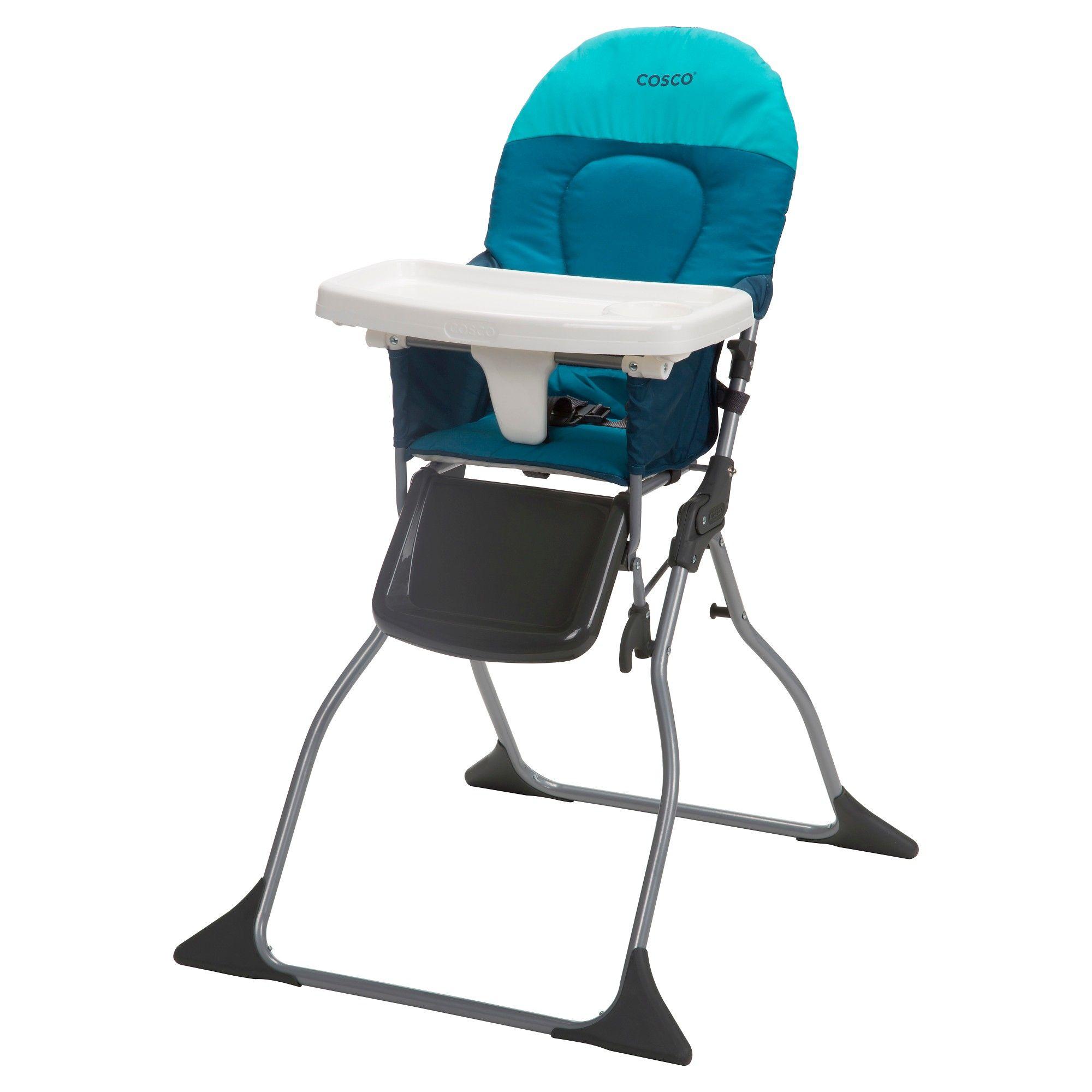 Cosco Simple Fold High Chair Ocean Depth Chair