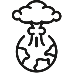 Apocolypse Atomic Bomb Explosion Nuclear Icon Geek Culture Icon Apocolypse