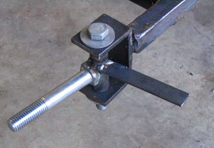 Pedal Car Steering System : Go kart steering plans tie rod and pitman arm coches