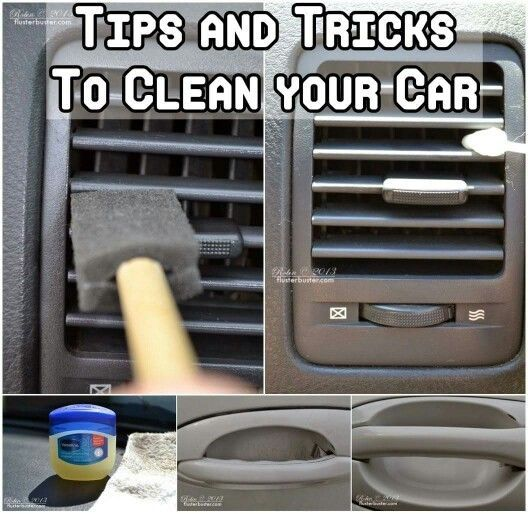 How To Clean The Inside Of Your Car