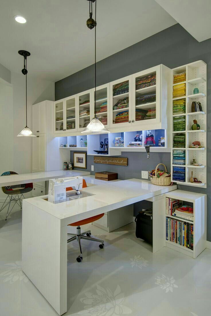 Dream Craft Room Craft Room Design Sewing Room Inspiration Small Craft Rooms